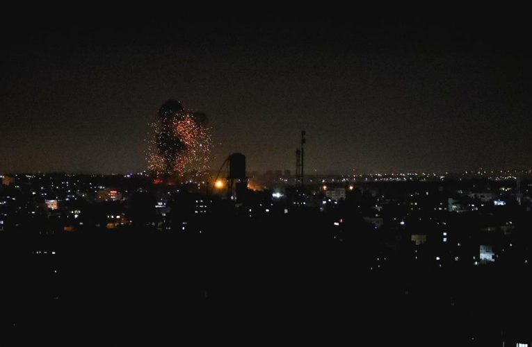 IDF strikes Gaza for second time this week, after incendiary balloons spark eight fires in southern Israel