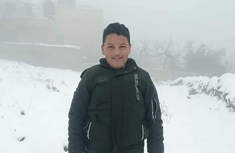 Palestinian boy killed by Israeli gunfire in West Bank, officials say
