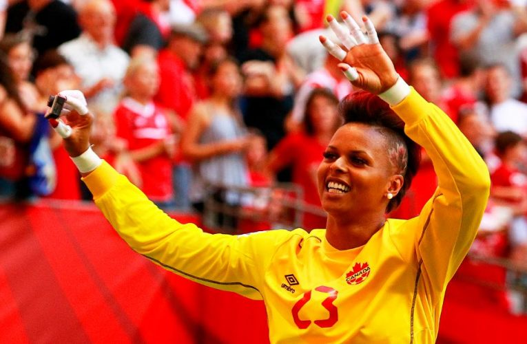Karina LeBlanc on FIFA's maternity support measures for female players