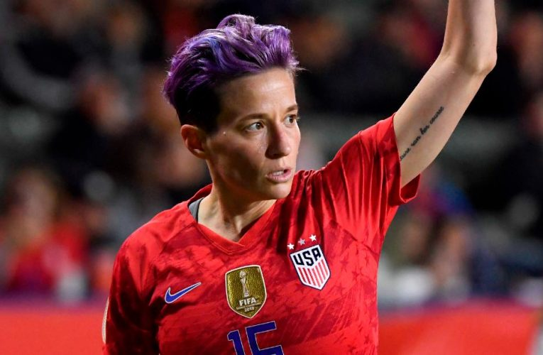 Megan Rapinoe condemns US Capitol rioters as 'White supremacist mob'