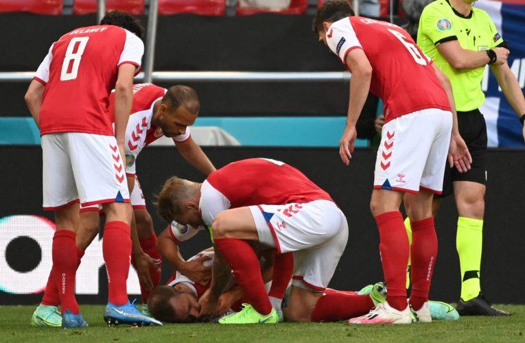 مهاجم منتخب الدنمارك يصف شعوره في ليلة سقوط إريكسن أثناء مباراة فنلندا