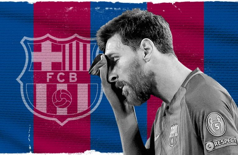 Lionel Messi and Barcelona say adios