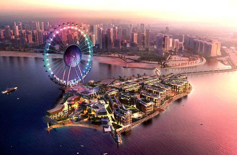 """عجلة """"عين دبي"""" تستعد لدوارن.. تجربة فريدة على ارتفاع 250 مترًا"""