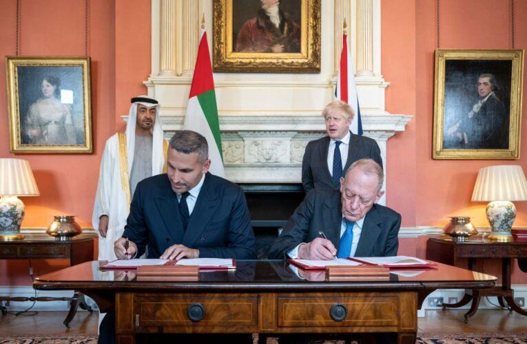 الإمارات تعلن ضخ 13.8 مليار دولار استثمارات في بريطانيا على هامش زيارة محمد بن زايد